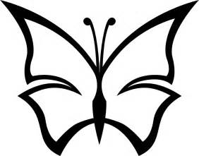 Butterfly Clipart For Kids Black And White  ClipartFest sketch template