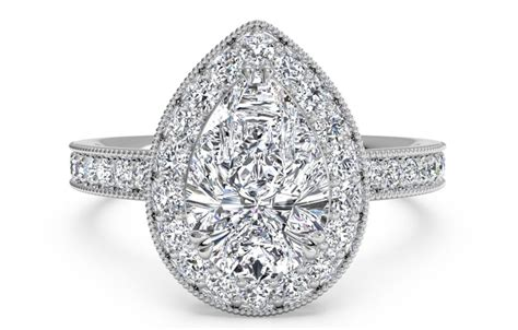 Pear Shaped Engagement Ring by Trending Pear Shaped Engagement Rings Ritani