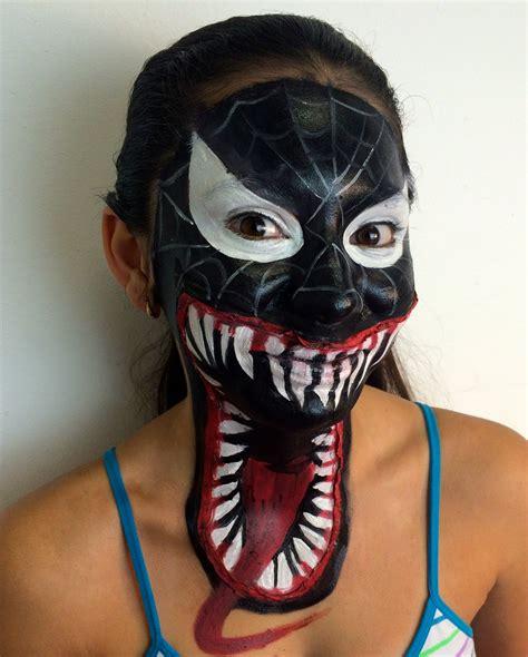 imagenes negro hombre hombre ara 241 a negro en 3d maquillaje fantasia quot venom
