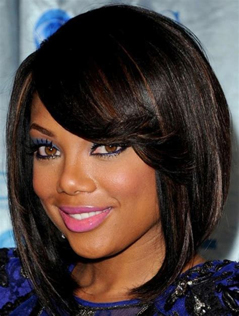 hairstyles for african american women with round face african american hairstyle for round faces women
