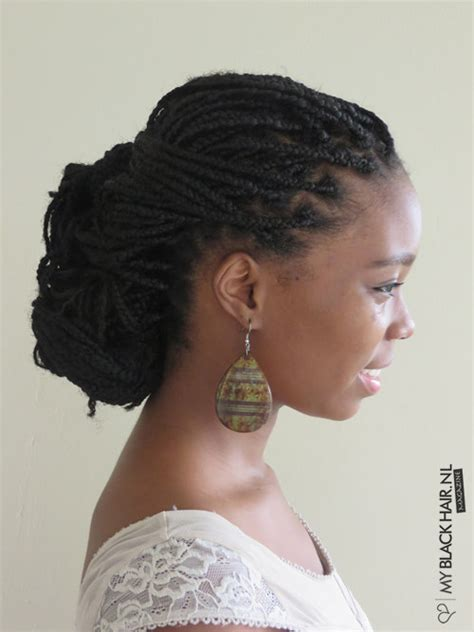 Low Bun Styles For Box Braids | 20 stunning box braids hairstyles box braids inspiration