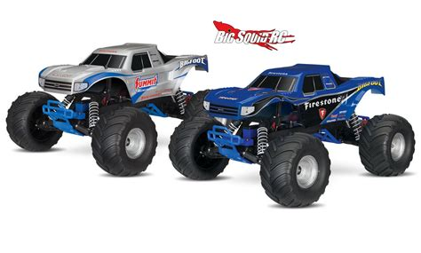 monster truck rc videos traxxas bigfoot monster truck with video 171 big squid rc