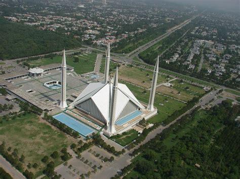 Lempengan Sabit rindu masjid masjid raja faisal islamabad pakistan