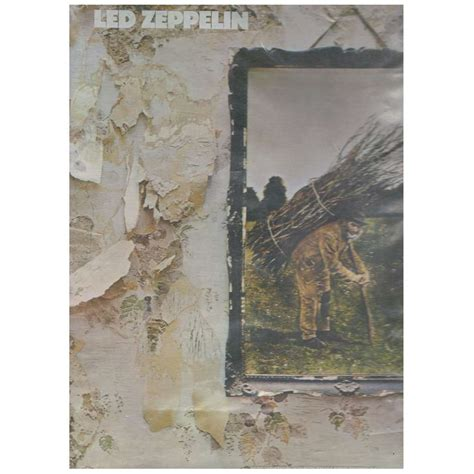 Original Led Zeppelin led zeppelin iv with original innersleeve and plastic