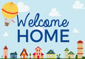 welcome home free welcome home vector free vector stock