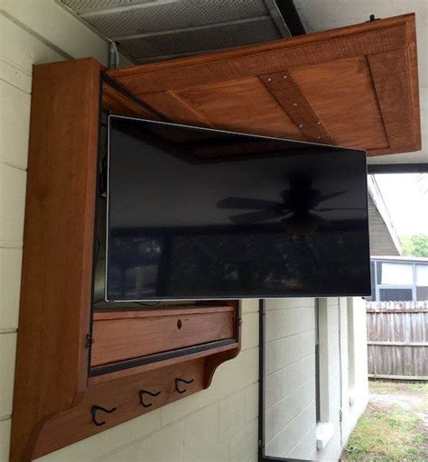 the 25 best outdoor tv cabinets ideas on pinterest