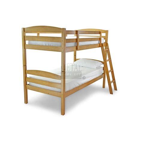 moderna wooden bunk bed frame
