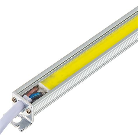 Led Linear Light Bar Cob Led Linear Light Bar Fixture 2 400 Lumens Aluminum Light Bar Fixtures Rigid Led Linear