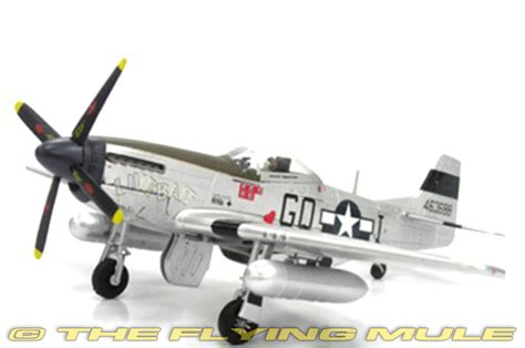 Witty Wings 1 72 American P 51d Mustang witty wtw72004 18 p 51 mustang diecast model quot live bait quot clayton gross