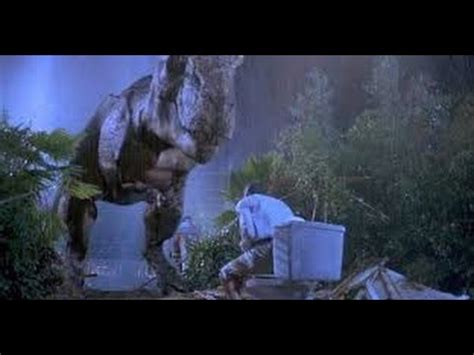 t rex bathroom jurassic park tyrannosaurus rex eats the lawyer on the
