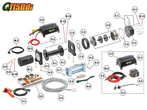 warn a2000 winch wiring schematic atv warn winch schematic