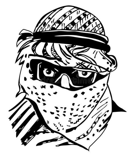 clipart uomo uomo in copricapo arabo tradizionale keffiyeh