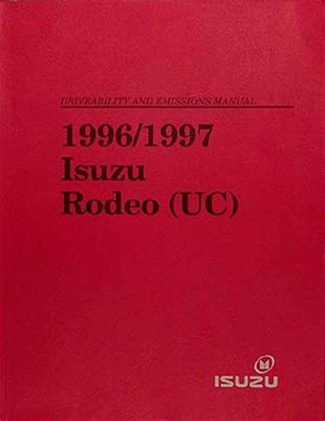 car repair manual download 1997 isuzu rodeo navigation system 1997 isuzu rodeo honda passport repair shop manual original