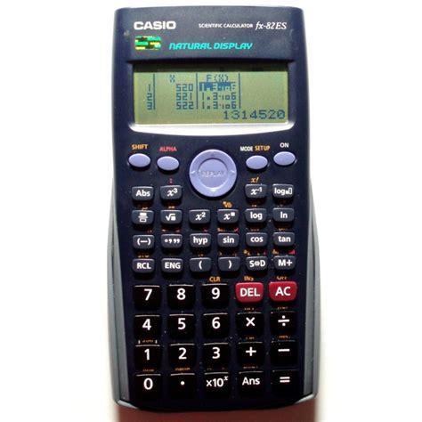 Casio Fx 82es Plus casio fx 82es plus calcolatrice scientifica meucci
