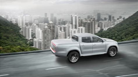 mercedes pickup 2017 2017 mercedes benz x class pickup truck 2 wallpaper hd