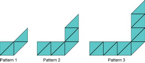 linear pattern questions online maths test ks3 algebra ks3 year 7 maths test