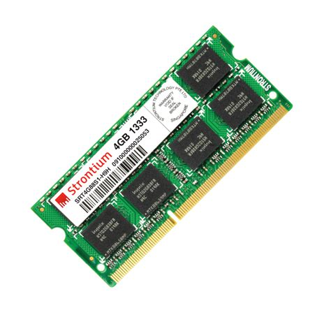 Strontium Ddr3 2gb 1333mhz Pc10600 Ram Sodimm Srt2g68s1 H9z 69n2 laptop memory laptop ram