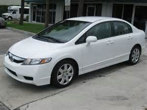 buy used 2011 honda civic lx 4 door white auto florida 1