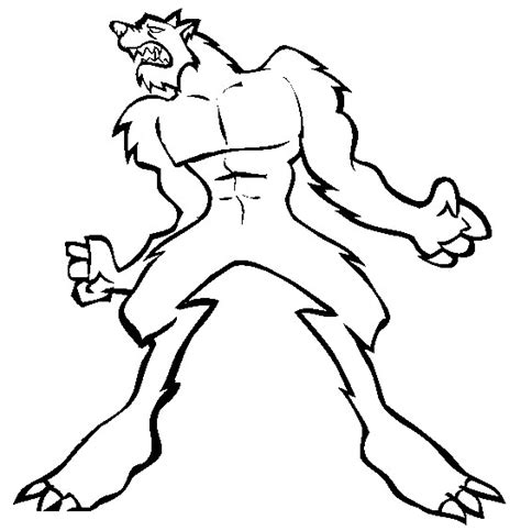 halloween wolf coloring pages werewolf coloring pages bestofcoloring com
