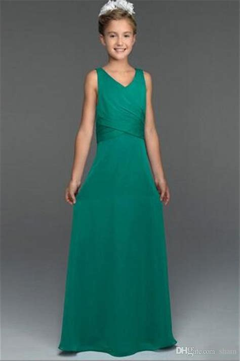 young bridesmaid dress pattern green girls bridesmaid dresses junior bridesmaid dresses v