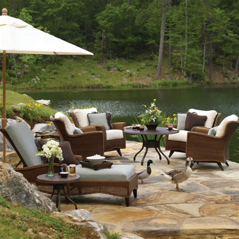 Lauren All Weather Wicker By Summer Classics Free Summer Patio Furniture