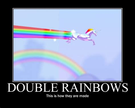 Unicorn Rainbow Meme - may 2011 random high fives