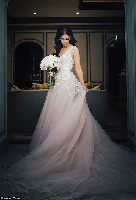 White Day Wedding Dresses by Wears Pink Wedding Dress Bridesmaids Wear White