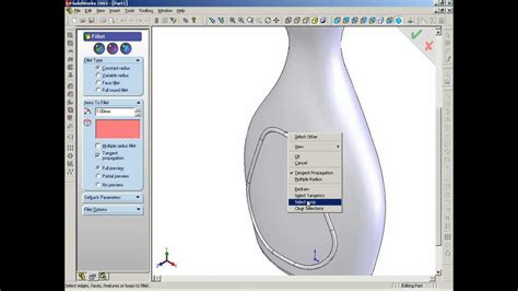 tutorial solidworks bottle tutorial how to make fairy bottle using solidworks youtube