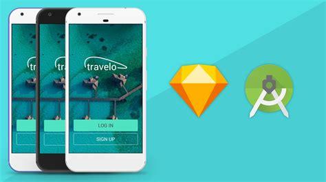 tutorial design ui android sketch app ui design to android xml tutorial youtube