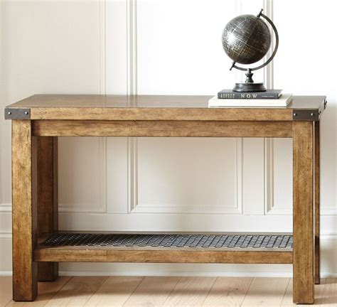 industrial sofa table hailee industrial sofa table from steve silver ha150s