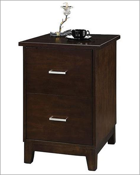 winners only two drawer file cabinet koncept in chocolate