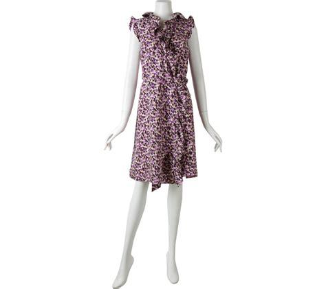 Tas Kate Spade Mini 3528 kate spade purple wrap mini dress