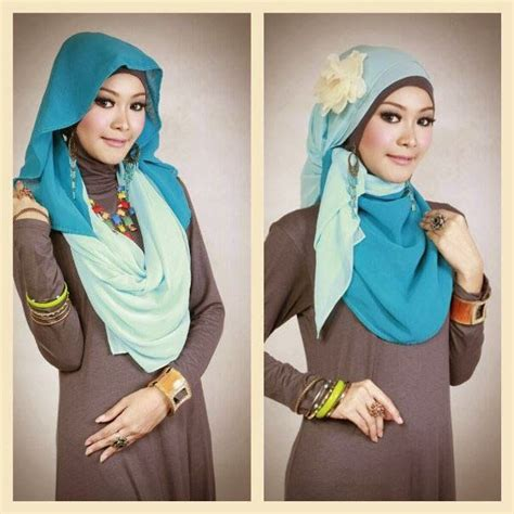 tutorial berhijab tips berhijab komunitas hijabers fashion moslem