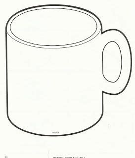 Mug Outline Coffee Mug Clipart Hot Chocolate Mug Coloring Page Preschool Pinterest Coffee Mug Template