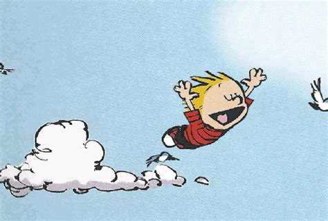 fly open gifs find share free calvin and hobbes gif find share on giphy