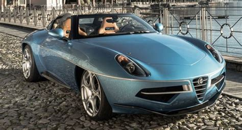 alfa romeo disco volante spider touring superleggera presents the disco volante spider w