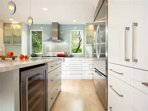 contemporary kitchen cabinet pulls contemporary kitchen with egg shaped pendants hgtv