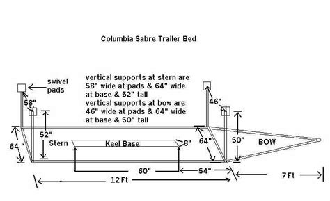 boat trailer length boat trailer boat trailer dimensions