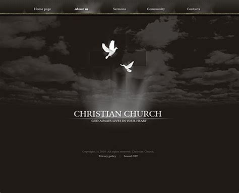 Christian Church Flash Website Template Best Website Templates Christian Website Templates