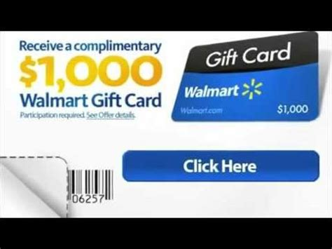 Free 1000 Walmart Gift Card - get a free 1000 christmas walmart gift card limited time only youtube