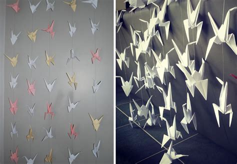 origami crane curtain origami spring 2016 s d 233 cor trend bnbstaging le blog