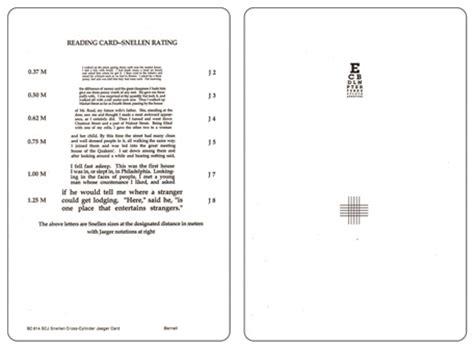 printable jaeger eye test chart jaeger reading chart printable calendar template 2016