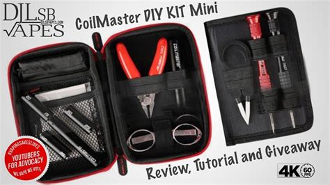 Jual Coil Master Diy Kit Mini by Coil Master Diy Kit Mini Review And With Coiling Kit V4