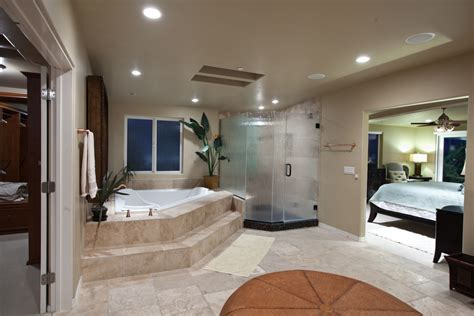 open master bedroom bathroom design decosee com