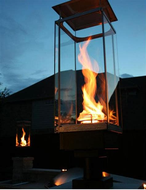 Pool Fire Features Outdoor Gas Lighting Fixtures