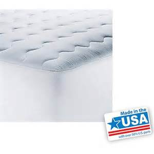 mainstays pillow top mattress pad walmart