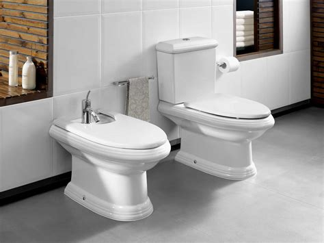 bathroom with white bidet and toilet about bathroom