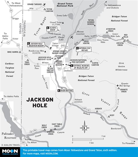 wyoming map printable travel maps of wyoming moon travel guides