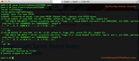 howto jdk linux how to execute tcpdump linux command using java process