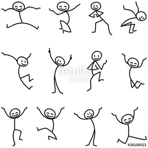 doodle jump namen quot strichm 228 nnchen fr 246 hlich springend quot stockfotos und